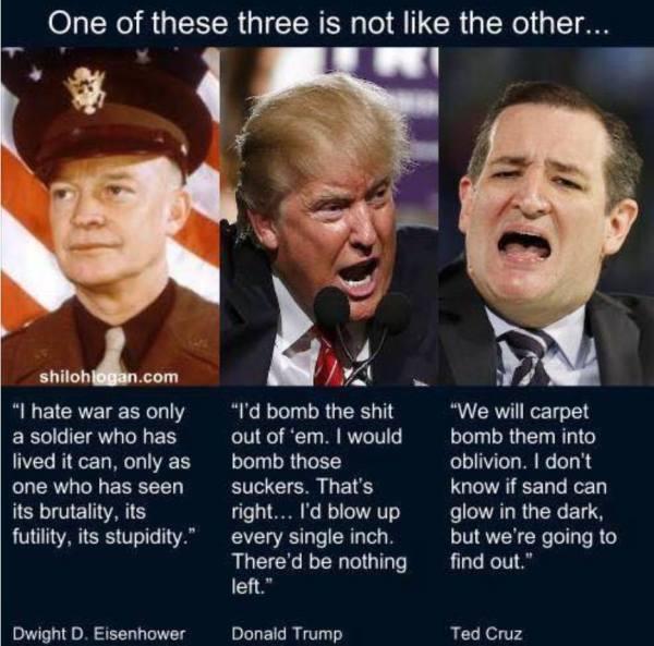 Eisenhower Trump Cruz