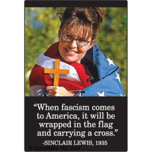 Palin Flag Cross