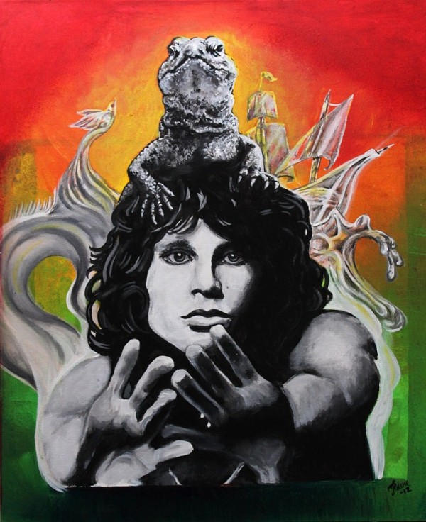 the_lizard_king__jim_morrison__by_dragonhope-d4zlikh