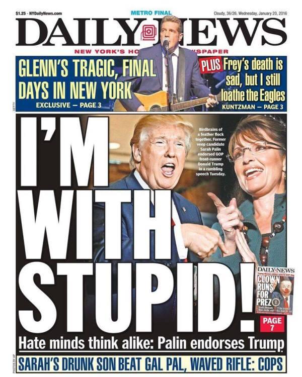 Trump Sarah Palin