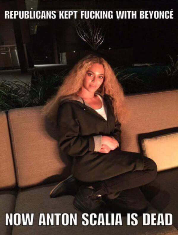 Antonin Scalia Beyonce
