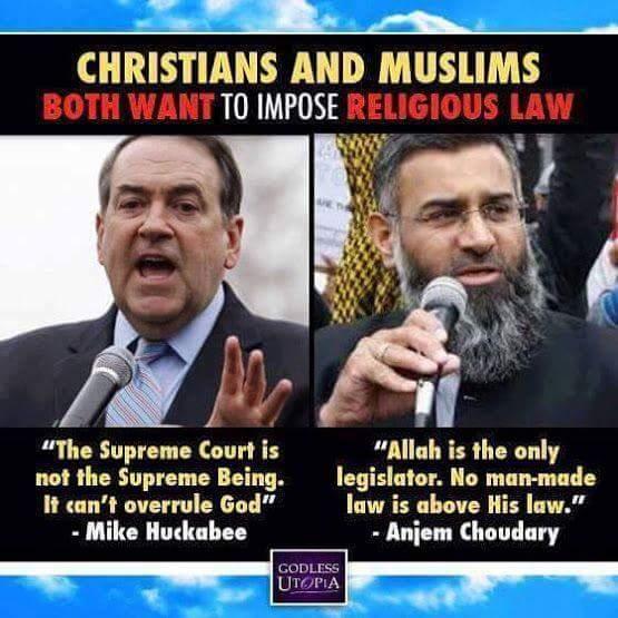Huckabee Islam