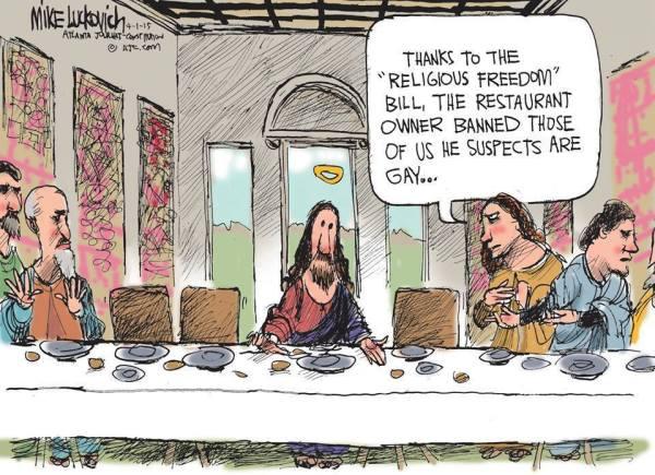Last Supper Gay