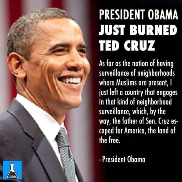 Obama Cruz