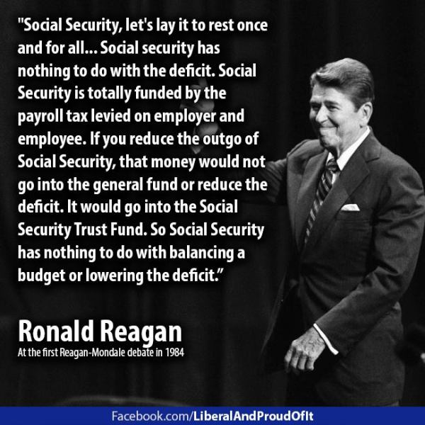 Reagan Socual Security