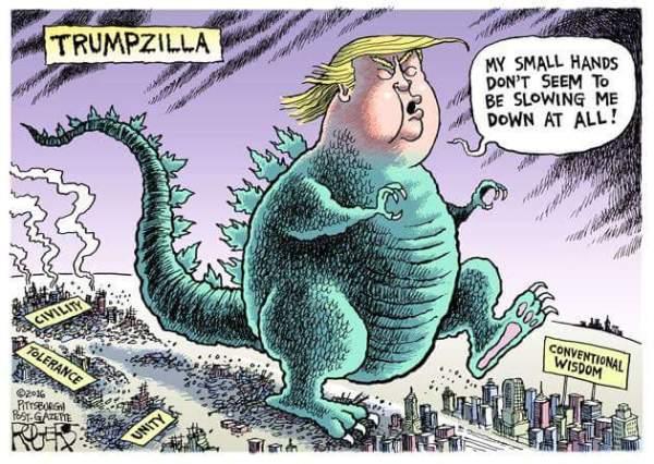 Trump Zillla