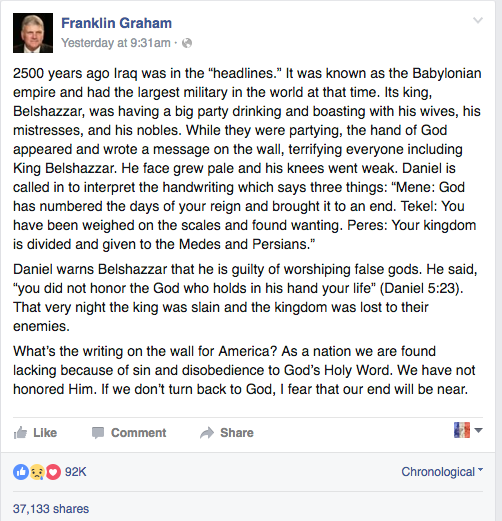 1 Franklin Graham