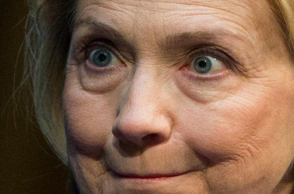 Crazy Hillary