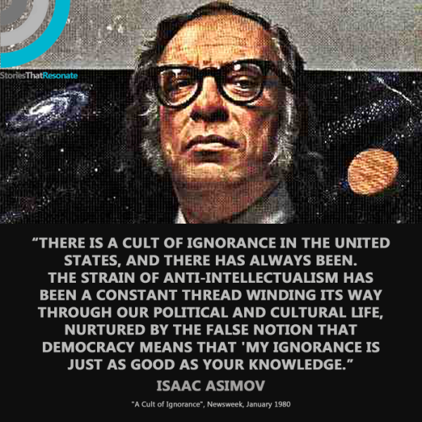 Asimov Ignorance
