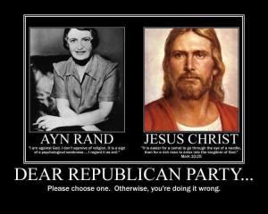 Ayn Rand Jesus
