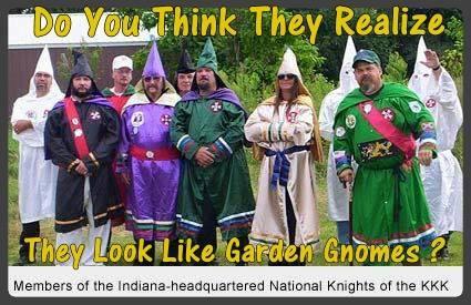 KKK Garden Gnomes