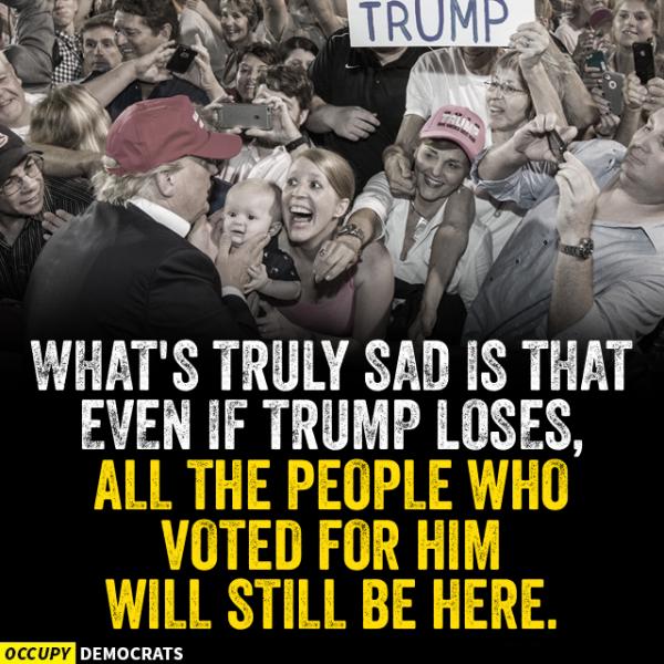Sad Trump Loses
