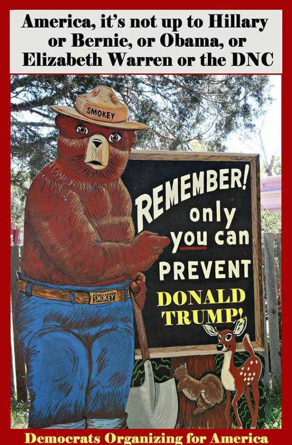 Smokie the Bear Trump