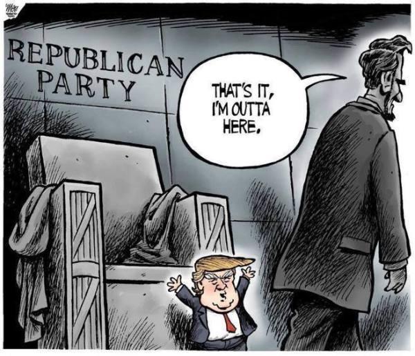 Trump Lincoln