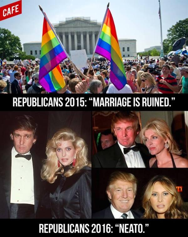 Trump Mariiage