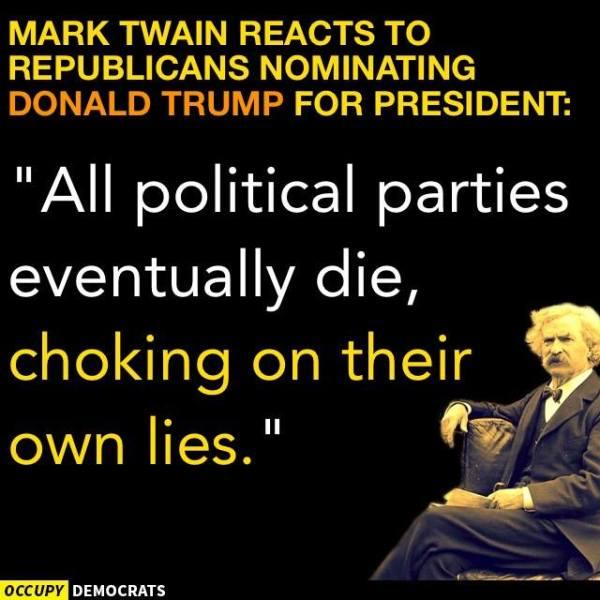Trump Mark Twain