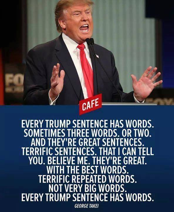 Trump Words