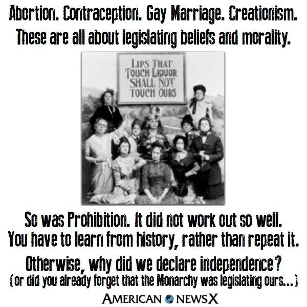 Abortion Contraception Gay Marriage Creationismp