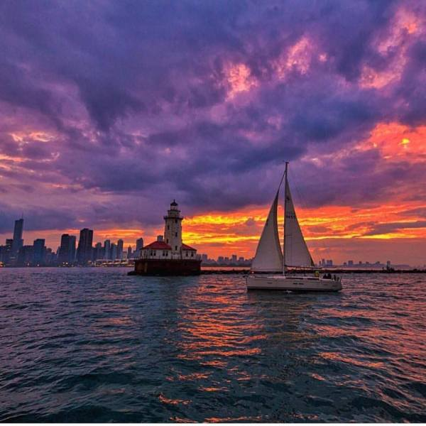 Chicago Sailboat