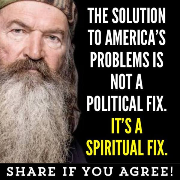 Duck Phil Robertson Spiritual Fix