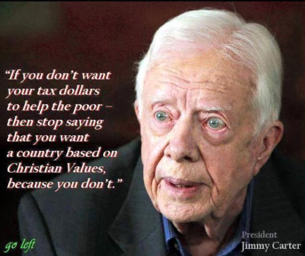 Jimmy Carter Christian Values