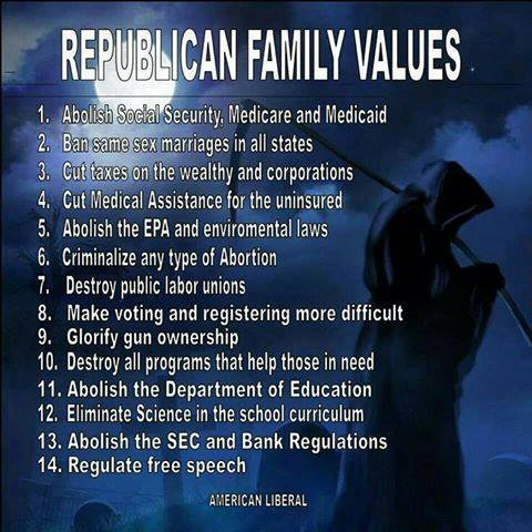 Republican Family Values