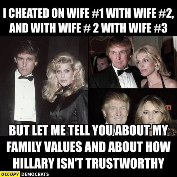 Trump Wives Trust