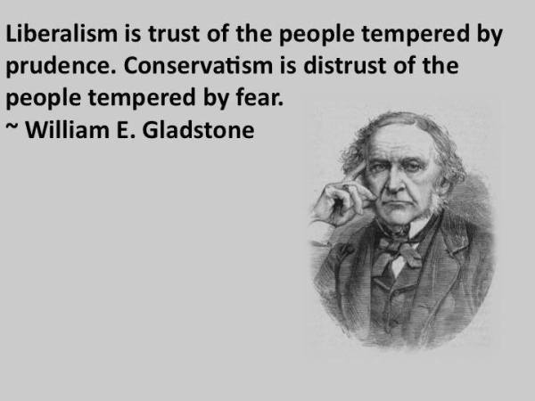 Gladstone Fear Conservative