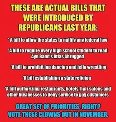 GOP Legislation
