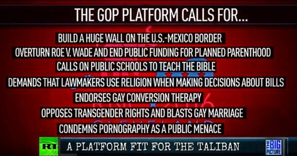 GOP Platform 2016
