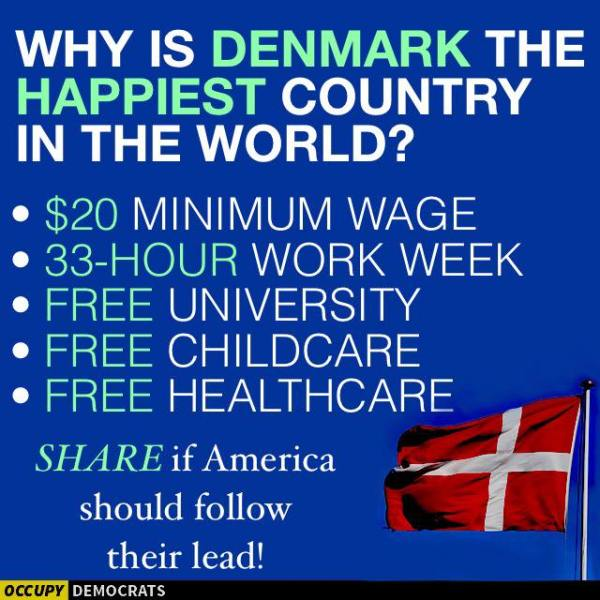 Happy Denmark