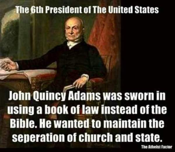 John Quincy Adams Bible