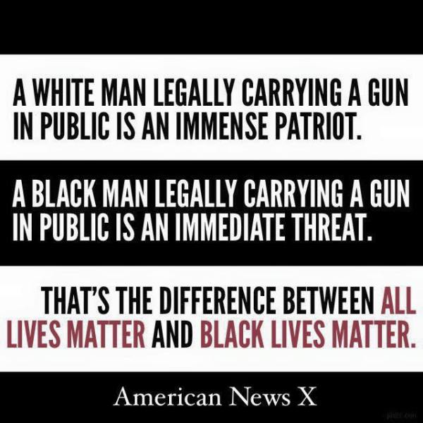 Open Carry Black Lives Matter
