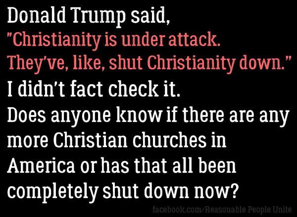 Trump Christianity