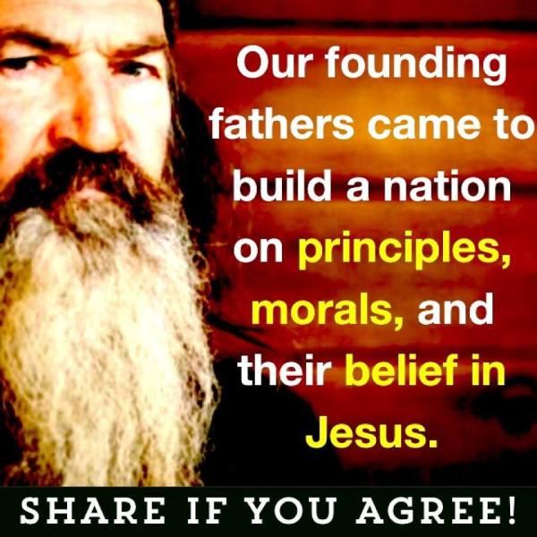 Phil Robertson Founding Fathers Principiles