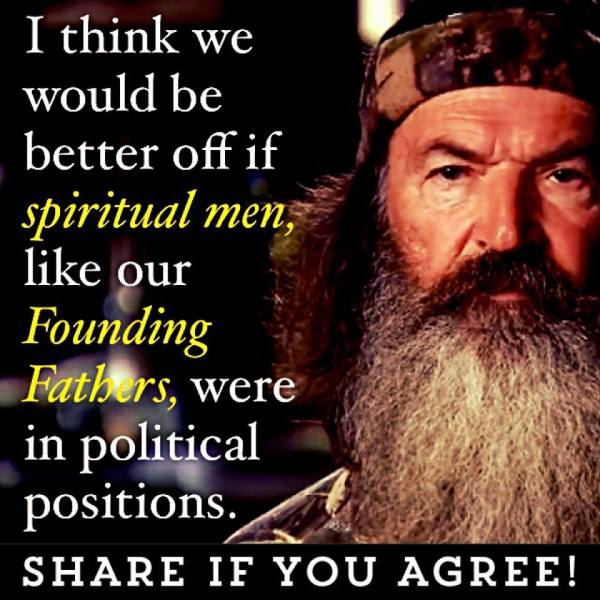 Phil Robertson Spiritual Men