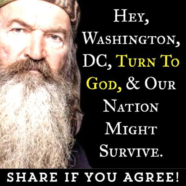 Phil Robertson Turn to God