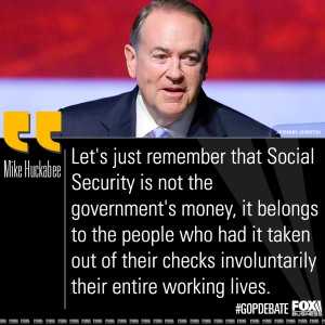 huckabee-social-security