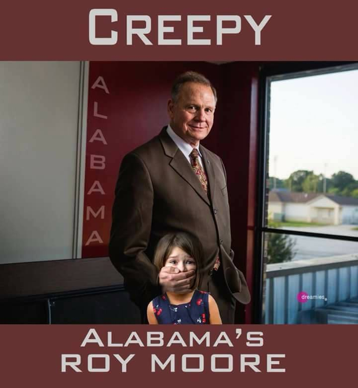 Dumb Fundie Crackas Been Peeing In Your Pool and Then Lying About it!!! ROY MOORE: LAST TIME AMERICA WAS 'GREAT' WAS DURING 'SLAVERY'!!! Abortion Could Be Deal-Breaker In Alabama Senate Race For Many Torn GOP Voters!!! Tom Friedman on Trump's ignorance in Jerusalem embassy decision!!! For decades, conservative Christian voters insisted that character counts. In 2017? Values voters are hard to find!!! Carl Gallups: Trump Is 'Getting His Ducks In A Row' To Finally Expose Obama's Phony Birth Certificate!!!